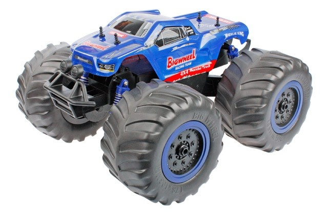 Cartronic RC Big Wheel Monster Truck 48 cm blauw