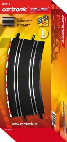 Cartronic Car Speed Looping 90 graden 4 delig zwart