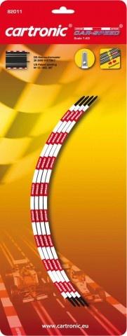 Cartronic Car Speed zijkant looping 90 graden enkelbaans