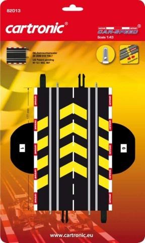 Cartronic Car Speed Mechanische rondeteller 17,7 cm zwart