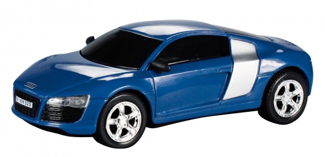 Cartronic Car Speed racebaan auto Audi R8 blauw