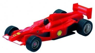Cartronic Car Speed racebaan auto formule 1 Ferarri rood