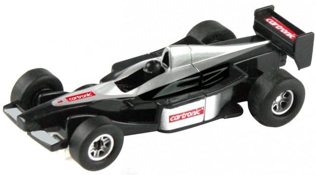 Cartronic Car Speed racebaan auto formule 1 McLaren zilver