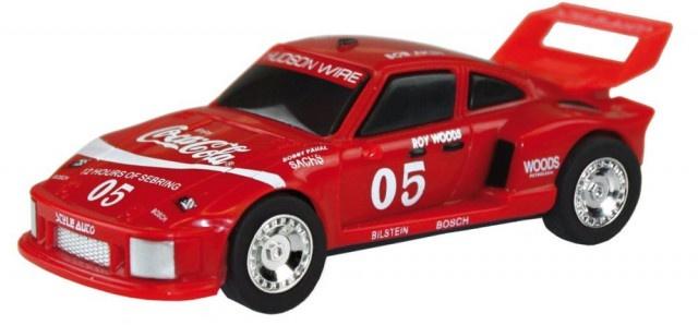 Cartronic Car Speed racebaan auto Porsche Turbo 935 Coca Cola