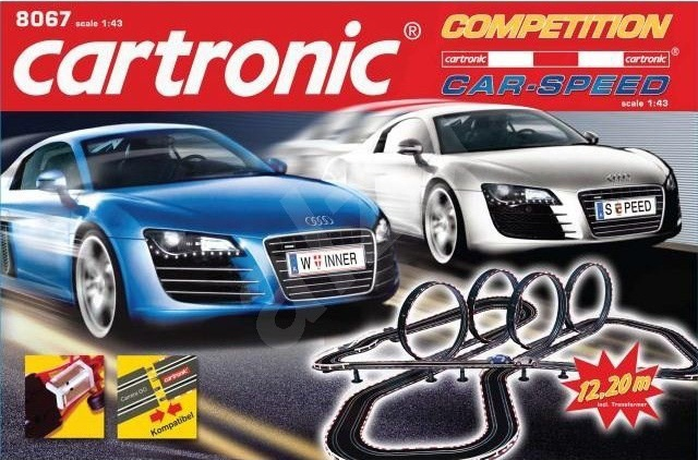 Cartronic Car Speed racebaan Competition
