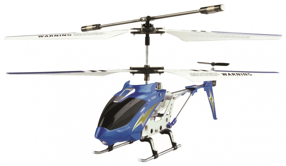 Cartronic RC Helikopter C709 22 cm blauw