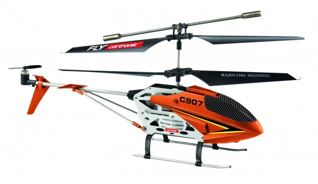Cartronic RC Helikopter C907 24 cm oranje