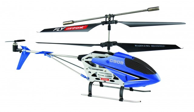Cartronic RC Helikopter C908 24 cm blauw