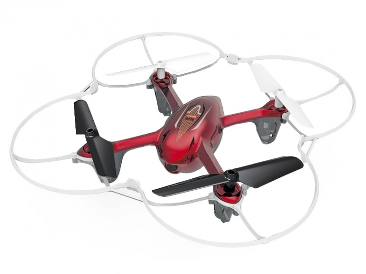 Cartronic Quadcopter Q11C met HD camera rood/wit