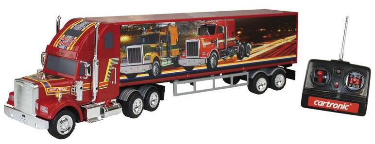 Cartronic RC Jumbo Truck 71 cm rood