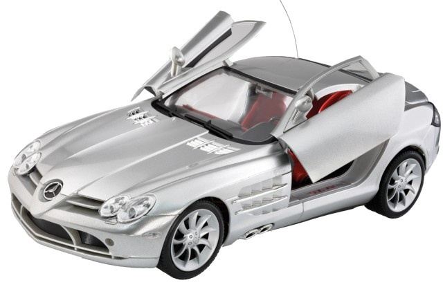 Cartronic rc mercedes benz slr silver 1 12 internet toys for Rc mercedes benz