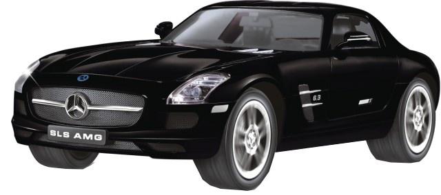 Cartronic RC Mercedes Benz SLS zwart 1:14
