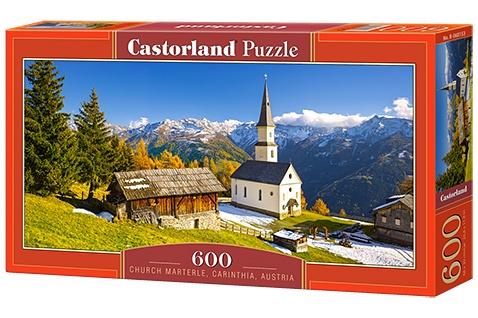Castorland legpuzzel Church Marterle, Carinthia 600 stukjes