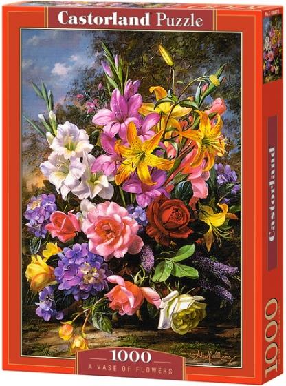 Castorland legpuzzel A Vase of Flowers 1000 stukjes