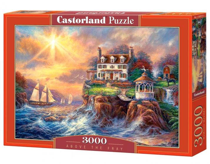Castorland legpuzzel Above the Fray 3000 stukjes