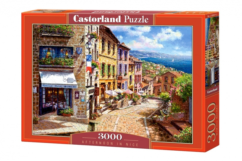 Castorland legpuzzel Afternoon in Nice 3000 stukjes