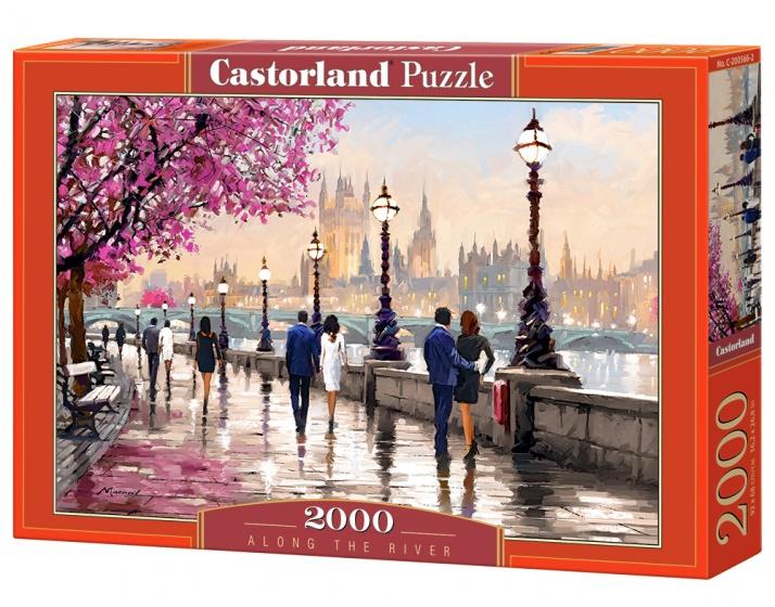 Castorland legpuzzel Along the River 2000 stukjes