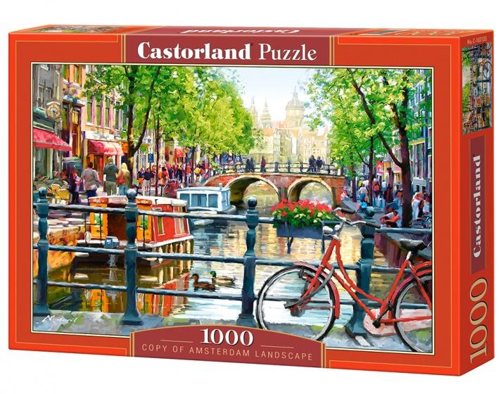 Castorland legpuzzel Amsterdam Landscape 1000 stukjes