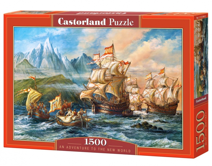 Castorland legpuzzel An Adventure to the New World 1500 stukjes