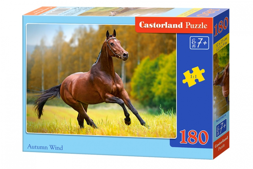Castorland legpuzzel Autumn wind 180 stukjes