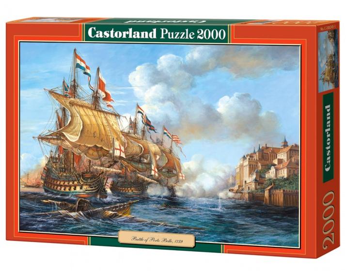 Castorland legpuzzel Battle of Porto Bello, 1739 2000 stukjes