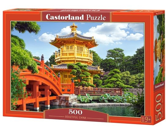 Castorland legpuzzel Beautiful China 500 stukjes