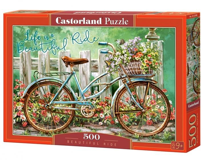 Castorland legpuzzel beautiful ride 500 stukjes 255134
