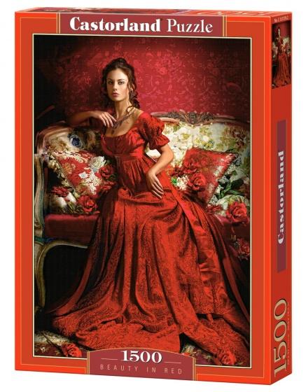 Castorland legpuzzel Beauty in Red 1500 stukjes