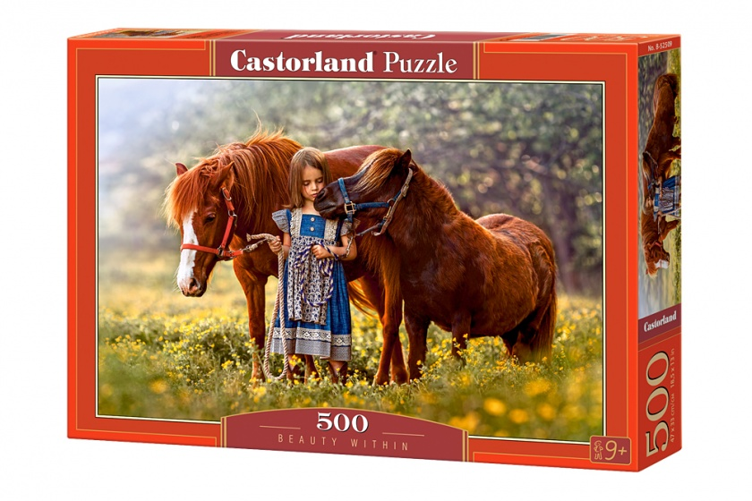Castorland legpuzzel Beauty within 500 stukjes