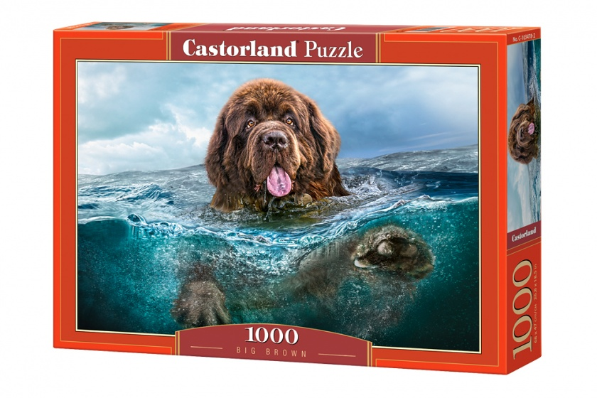 Castorland legpuzzel Big Brown 1000 stukjes