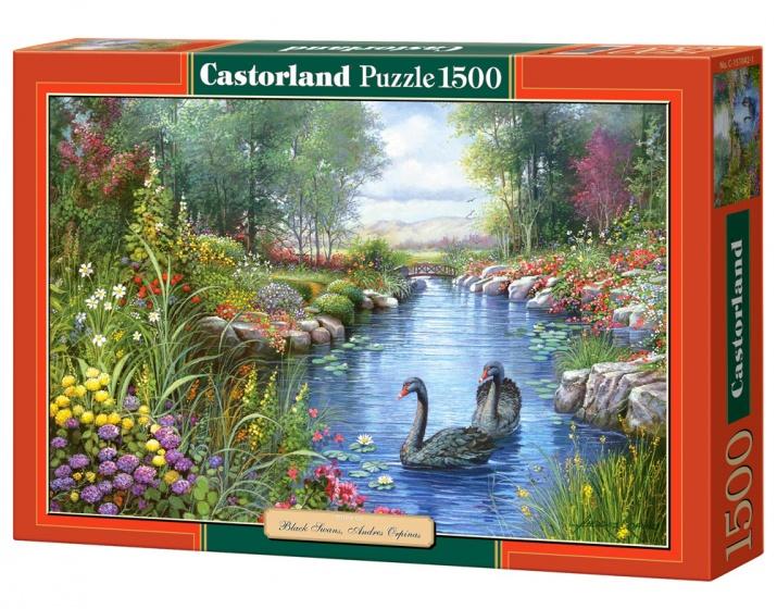 Castorland legpuzzel Black Swans, Andres Orpinas 1500 stukjes