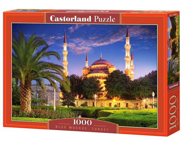 Castorland legpuzzel Bleu Mosque, Turkey 1000 stukjes