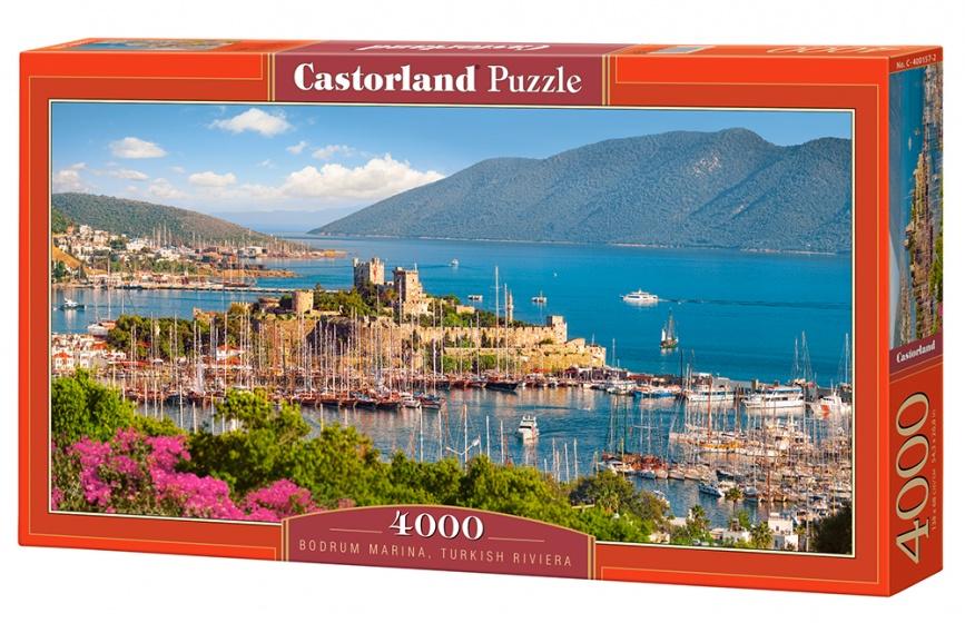 Castorland legpuzzel Bodrum Marina, Turkish Riviera 4000 stukjes