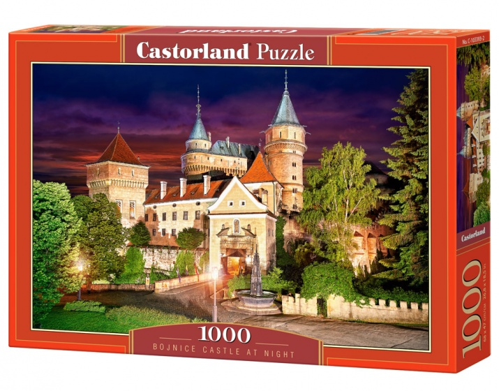 Castorland legpuzzel Bojnice Castle at Night 1000 stukjes