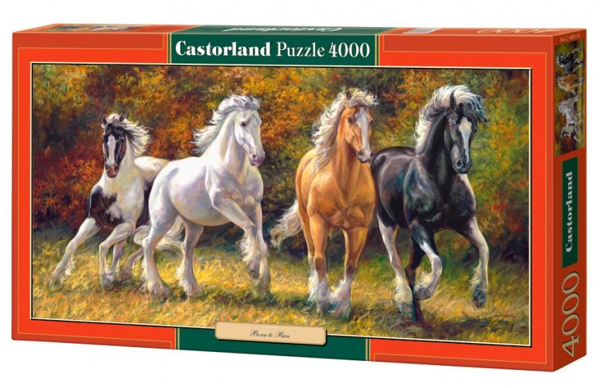 Castorland legpuzzel Born to Run 4000 stukjes