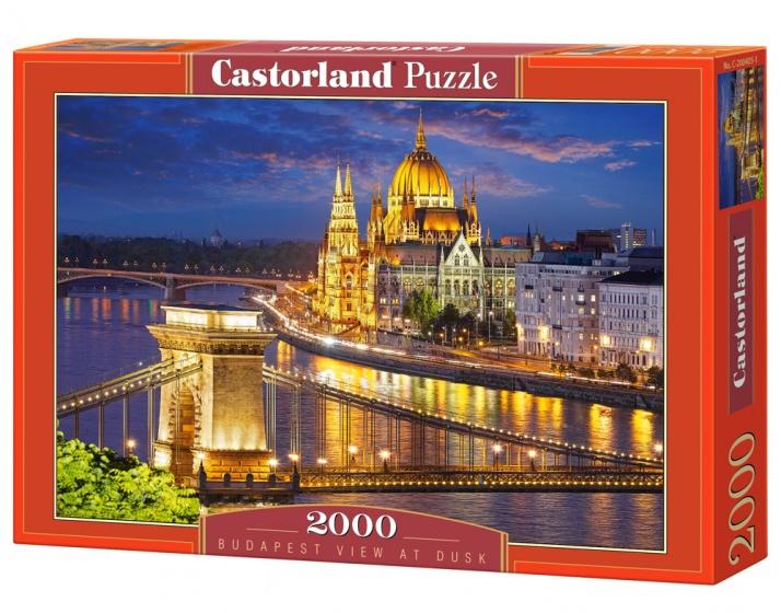 Castorland legpuzzel Budapest View at Dusk 2000 stukjes