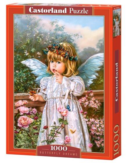 Castorland legpuzzel Butterfly Dreams 1000 stukjes