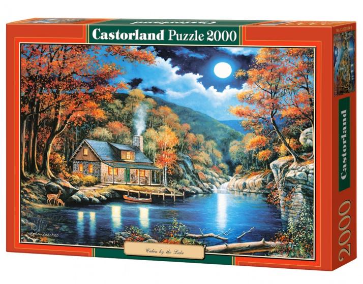 Castorland legpuzzel Cabin by the Lake 2000 stukjes