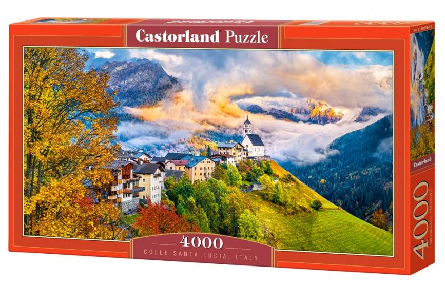 Castorland legpuzzel Colle Santa Lucia, Italy 4000 stukjes