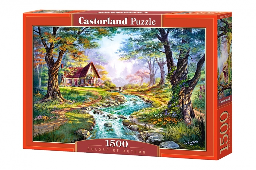 Castorland legpuzzel Colors of autumn 1500 stukjes