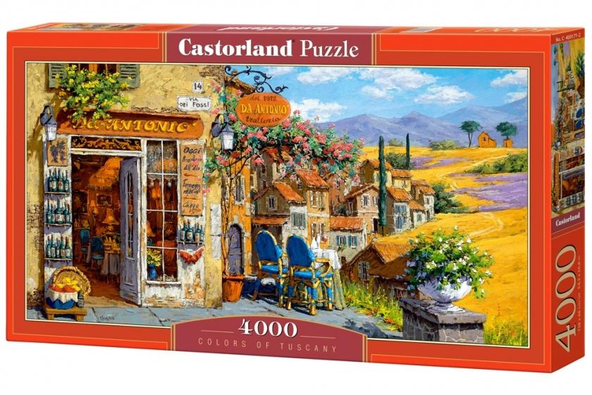 Castorland legpuzzel Colors of Tuscany 4000 stukjes