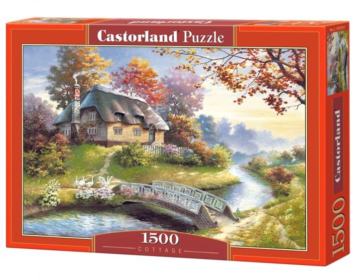 Castorland legpuzzel Cottage 1500 stukjes