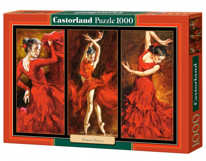Castorland legpuzzel Crimson Dancers 1000 stukjes