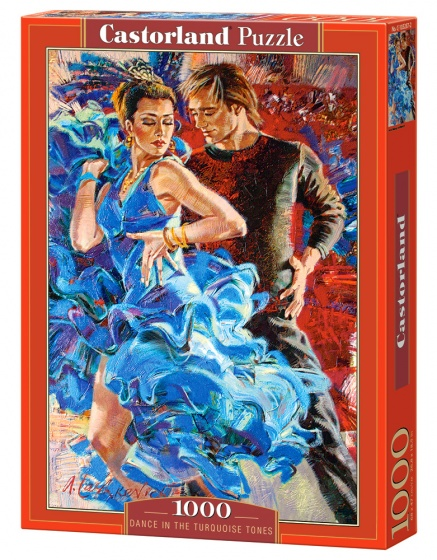Castorland legpuzzel Dance in the Turquoise Tones 1000 stukjes