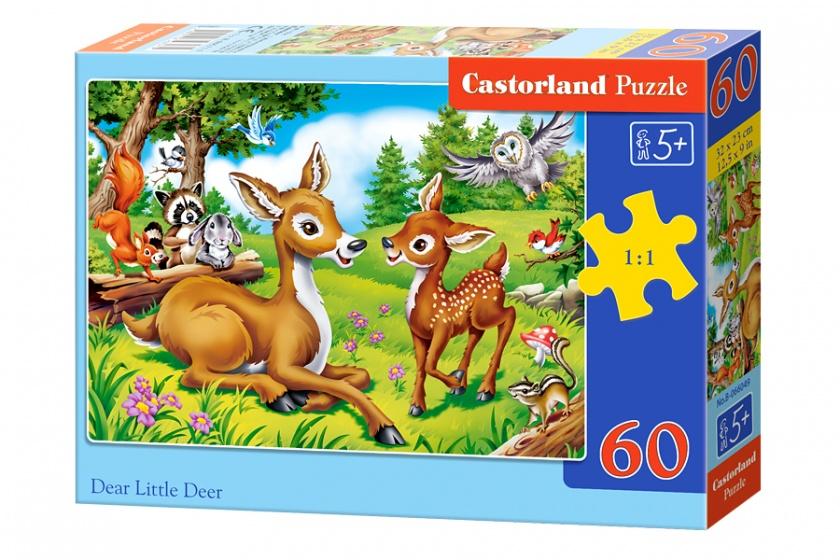 Castorland legpuzzel Dear little deer 60 stukjes