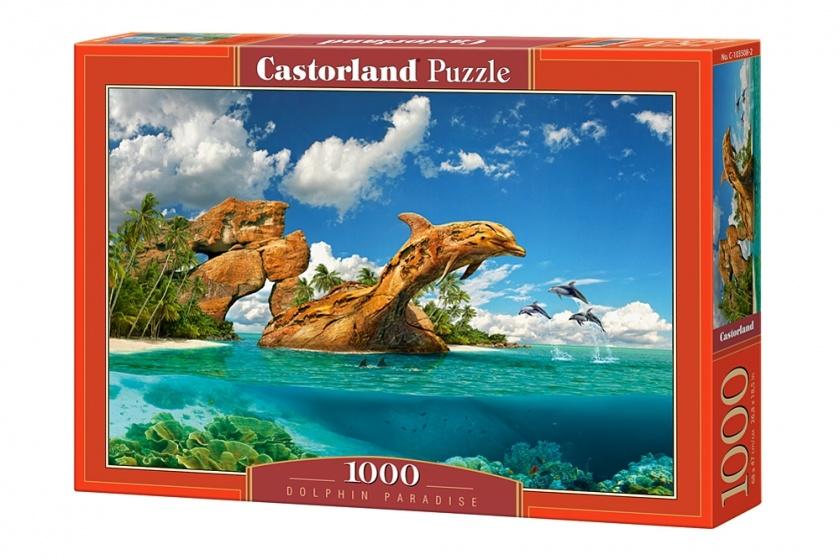 Castorland legpuzzel Dolphin Paradise 1000 stukjes