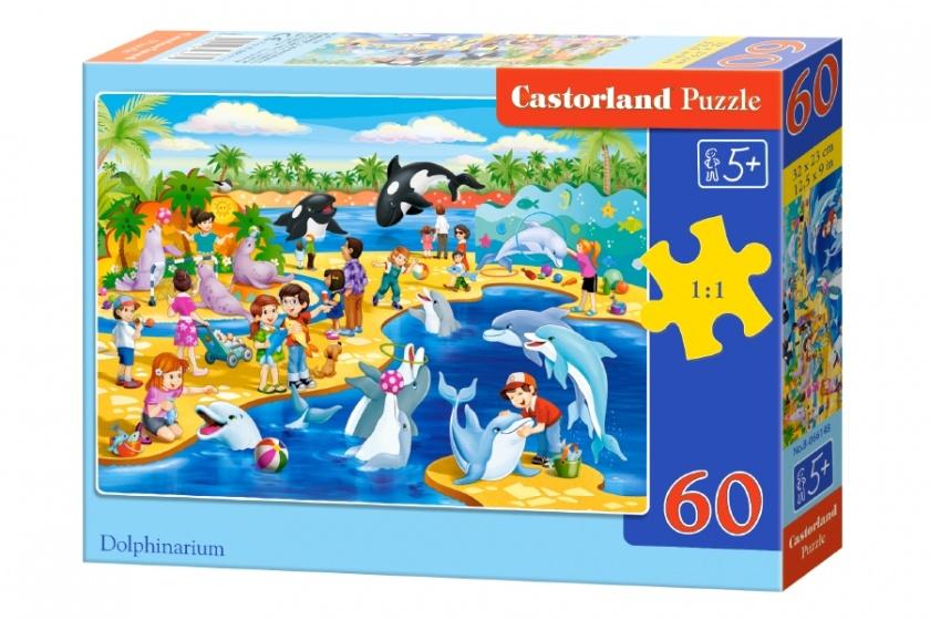 Castorland legpuzzel Dolphinarium 60 stukjes