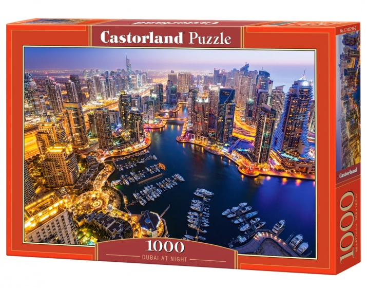 Castorland legpuzzel Dubai at Night 1000 stukjes