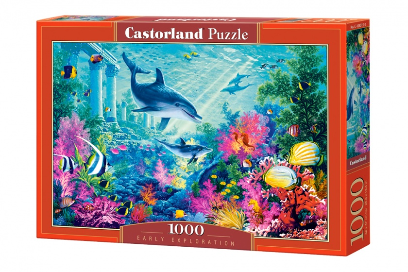 Castorland legpuzzel Early Exploiration 1000 stukjes