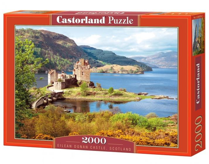 Castorland legpuzzel Eilean Donan Castle, Scotland 2000 stukjes